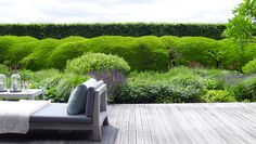 Garden design by Piet Oudolf, private residence of Piet Boon / repinned on Toby Designs