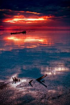 ~ Sunrise ~ Utah's Great Salt Lake....