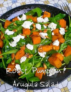 Roast Pumpkin & Arugula