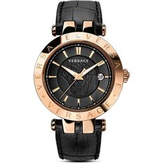 Versace V-Race Watch, 42mm ($1,490) ❤ liked on Polyvore