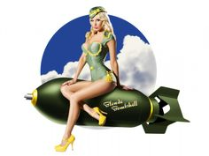 Military Pin Up