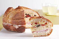 Antipasto Sub Club Sandwich recipe