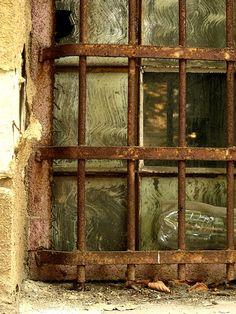 Window in Kosice, Slovakia