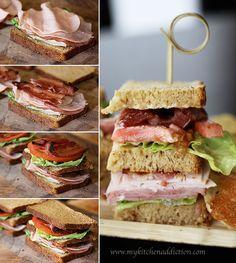 club sandwich salad killer club sandwich by ree killer club sandwich ...