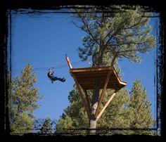 Zip Line - Durango at Full Blast Adventure Center