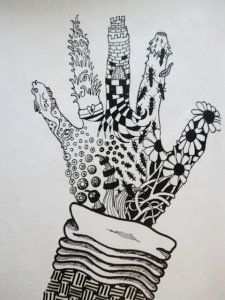 art-classes-zentangle-hand