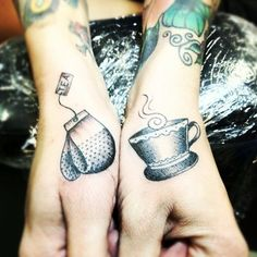 Tea tattoo