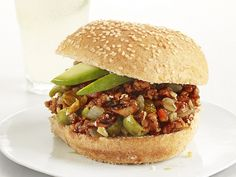Turkey Picadillo Sandwiches Recipe : Food Network Kitchens : Food Network - FoodNetwork.com
