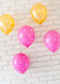 Polka Dot Balloons #celebrateeveryday