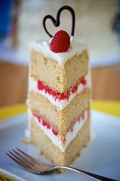 2 vegan gluten free lemon raspberry cake