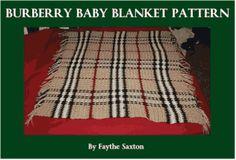 Burberry Blanket Pattern