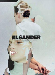 Jil Sander -- collage - human manipulation