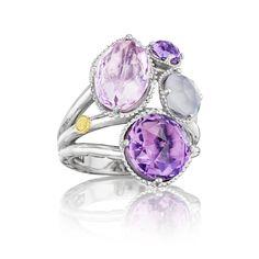 Capri Jewelers Arizona ~ www.caprijewelersaz.com Pretty pink pastels fit for a queen!