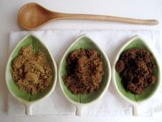 What's the Difference? Muscovado, Demerara, & Turbinado