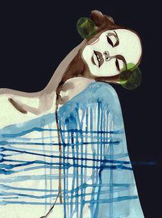 Adam | Peggy Wolf  #illustration