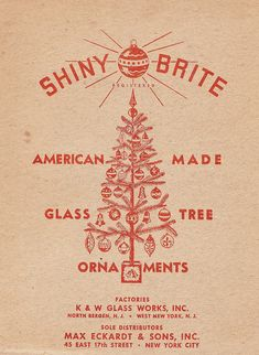 SHINY BRITE Ornament Box