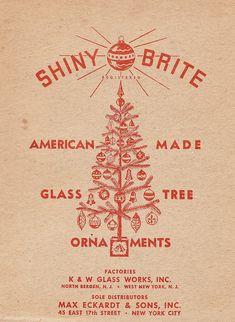 SHINY BRITE Ornament Box