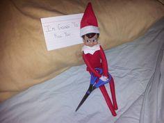 Creepy elf :)