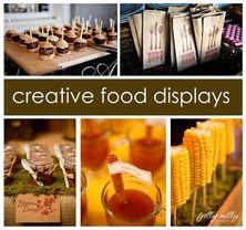 Creative food displays