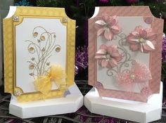 Two of Barbara's cards