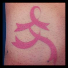 Find A Cure for Breast Cancer Temporary Tattoo -- Twitter / Recent images by @RunGoddessBA