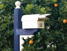 How to build a mailbox post