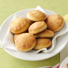 Angel Biscuits Recipe from Taste of Home -- shared by Faye Hintz of Springfield, Missouri