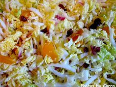 finished salad Calypso Napa Cabbage Salad
