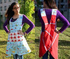 Tutorial delantal cocina 2/Once proyectos para 2013