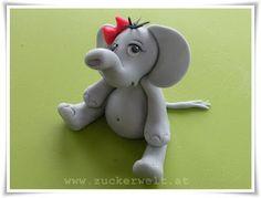 Fondant elefánt készítése képekben  Alapanyagokat sé ételfestéket vásárolj a GlazurShopból! http://shop.glazur.hu