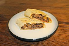 Grilled Cheeseburger Wraps Budget friendly, easy, cheap meals posted every Wednesday! Great way to get new recipes!