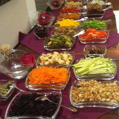 Salad bar.