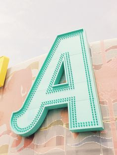 The A #typography