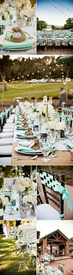 Love the colors (reminded me of mint chocolate chip ice cream for some odd reason), the location, the set up
