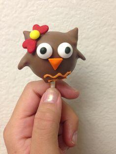 Owl Cake Pops Uk