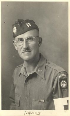 82nd Airborne Captain who was a doctor. Naples, Italy 1943