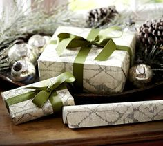 simpl ribbon, gift wrapping, paper