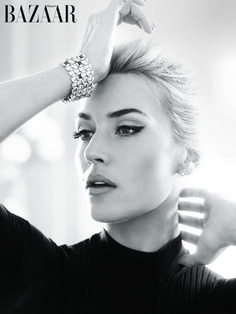 "Kate Winslet is DAZZLING in ""Harper's Bazaar UK"""