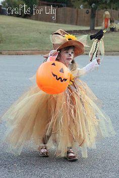 scarecrow tutu costume