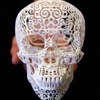 skull sculptur, sculptur crania