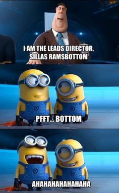 Minions are just the best.