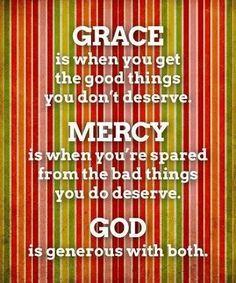 His Grace & His Mercy