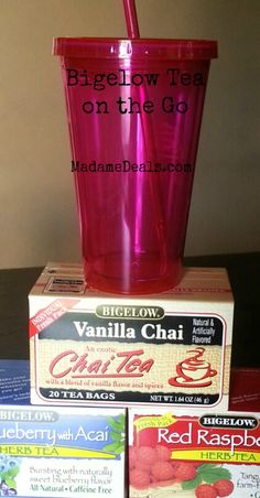 Keeping refreshed while on the go with Bigelow Tea #AmericasTea #shop #cbias