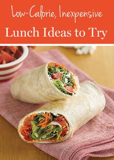 Cheap and healthy #lunch ideas!