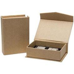 Neil Enterprises 170 - Kraft Flash Drive Box: Picture 1 regular