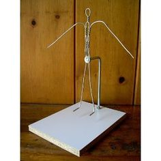 Armature Wire Figure (12 Inches Tall)