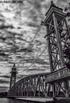Day #347- Train Bridge, Buzzards Bay Massachusetts | Bob Bernier Photography