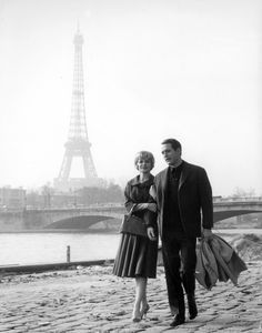 This might be the most perfect photo ever: Paul Newman and Joanne Woodward; Paris.