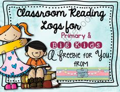 Reading Logs-Classroom Edition from The Teachers Chair on TeachersNotebook.com -  (4 pages)  - Classroom Reading Log Freebie
