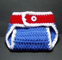 Crocheting: Diaper Covers Newborn